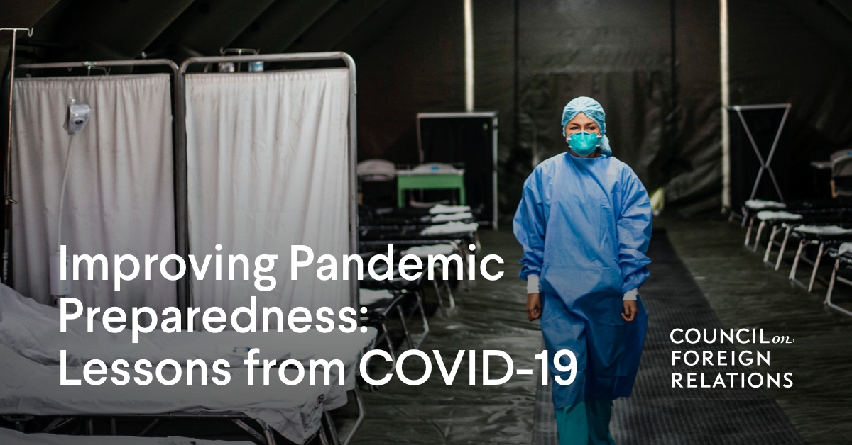 The U.S. Must Learn From COVID-19 to Prevent the Next Disaster