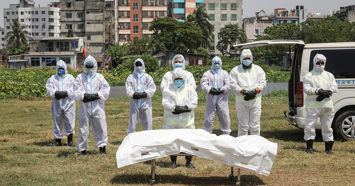 How the World Has Learned to Grieve in a Pandemic