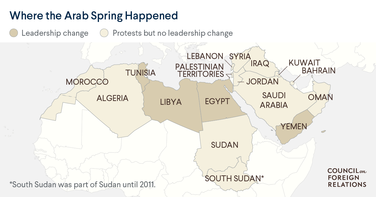 The Arab Spring at Ten Years: What's the Legacy of the Uprisings?