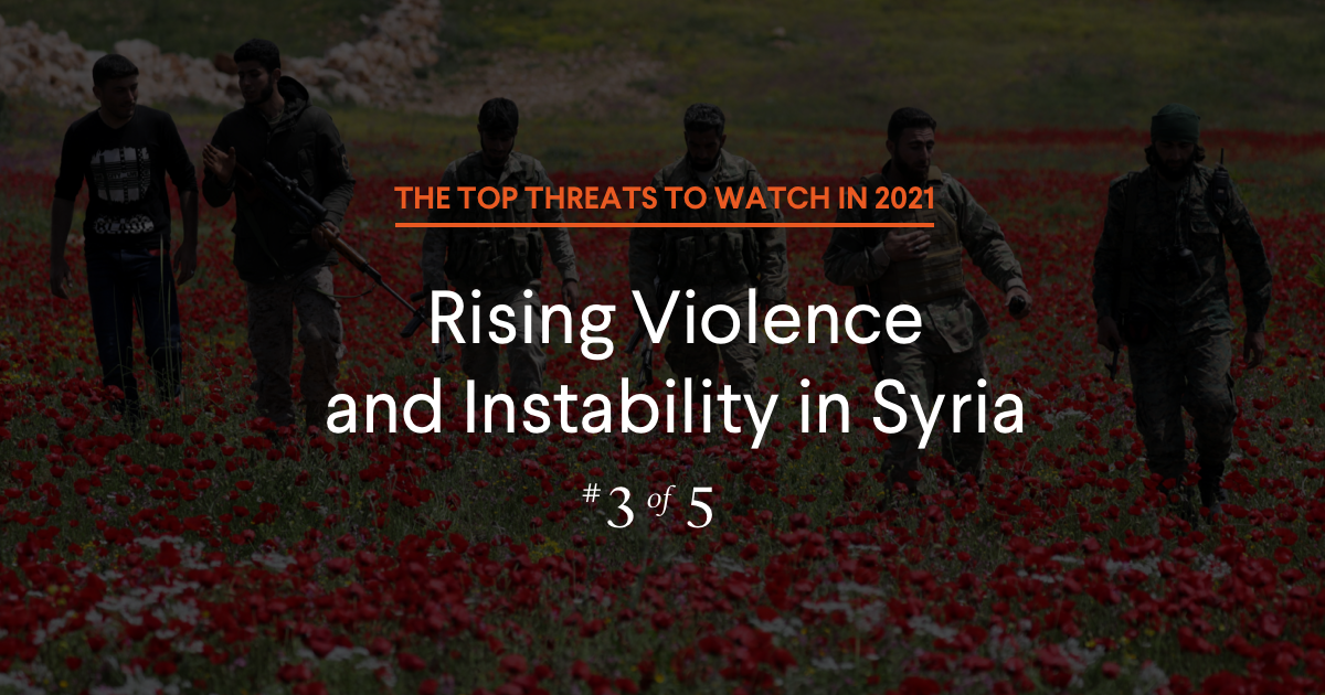 Conflicts to Watch in 2021: What's Next for Syria