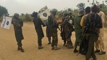 Boko Haram members welcome back returned members of the sect that were released by the Nigerian government.