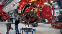 Worker-Factory-Aircraft Engine-Reuters