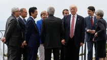 G7 informal group picture
