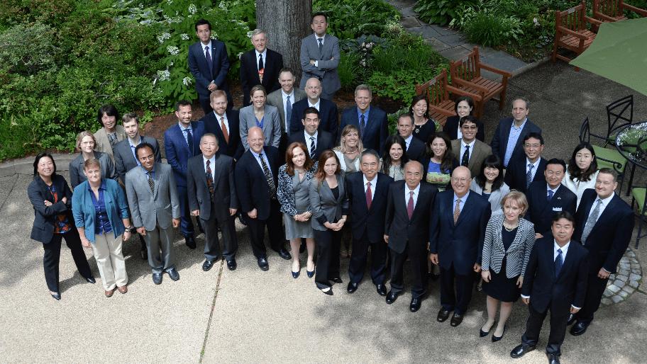 Participants at the annual 2015 CFR-Hitachi Fellows meeting
