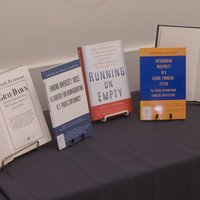 A sampling of books authored by Peter G. Peterson